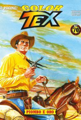 Copertina di Color Tex n.13 – Piombo e Oro