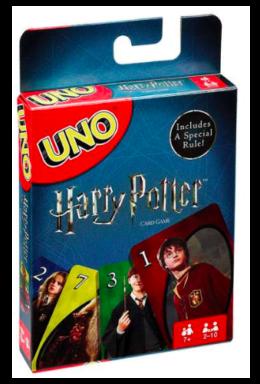 Copertina di Harry potter – Uno Card Game – Versione Inglese