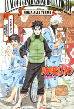 Copertina di Naruto: Ninja Alle Terme – Romanzo