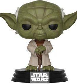 Copertina di Star Wars: Clone Wars – Yoda – Funko Pop n.269