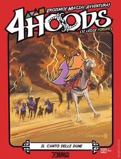Copertina di 4 Hoods n.6 – Il canto delle dune