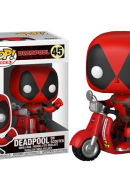 Copertina di Deadpool And Scooter – Funko Pop n.45