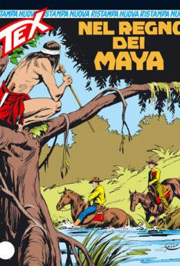Copertina di Tex Nuova Ristampa n.163 – Nel regno dei Maya
