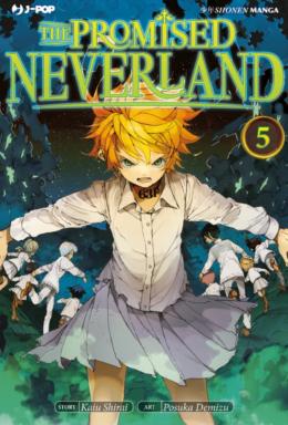 Copertina di The Promised Neverland n.5