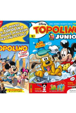 Copertina di Topolino n.3278 + Junior Topolino n.1