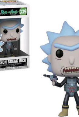 Copertina di Rick & Morty – Prison Escape Rick – Funko Pop