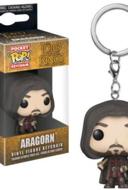 Copertina di Lord of the Ring – The Hobbit – Aragorn – Funko Keychain