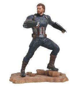 Copertina di Marvel Gallery – Avengers 3 – Capitan America Statue