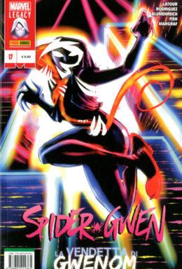 Copertina di Spider-Gwen n.17 – La vendetta di Gwenom