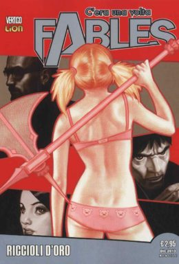 Copertina di Fables n.4 – Vertigo Legends 4