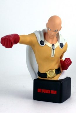 Copertina di One-Punch Man Saitama Bust Bank