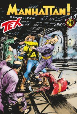 Copertina di Tex n.697 – Manhattan