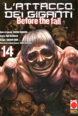 Copertina di Attacco Dei Giganti Before the fall 14 – Manga Shock 20
