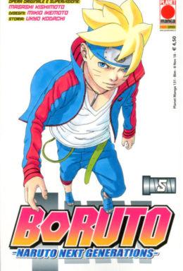 Copertina di Boruto: Naruto Next Generation n.5