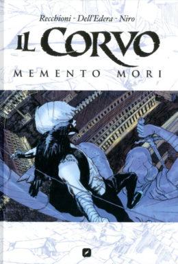Copertina di Il Corvo: Memento Mori – Omnibus