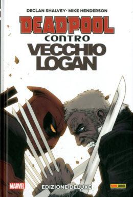 Copertina di Deadpool Contro Vecchio Logan