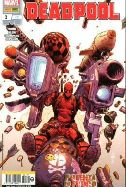 Copertina di Deadpool n.121 – Deadpool 2