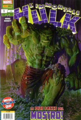 Copertina di Hulk E I Difensori n.44 – L'Immortale Hulk 1