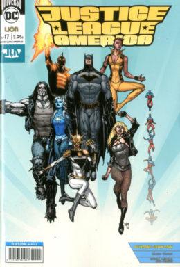 Copertina di Justice League America n.17 – Rinascita – Serie Regolare 55