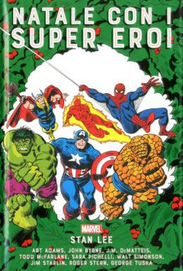 Copertina di Natale con i Super Eroi