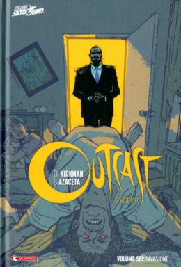 Copertina di Outcast il rietto n.6 – Cartonato HC – Invasione