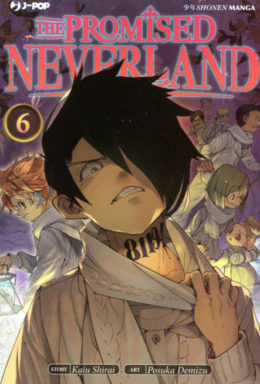 Copertina di The Promised Neverland n.6