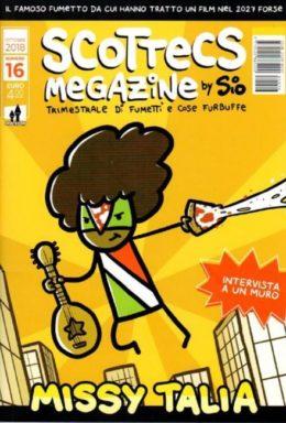 Copertina di Scottecs Megazine n.16