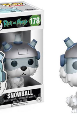 Copertina di Snowball – Rick and Morty – Funko Pop 178