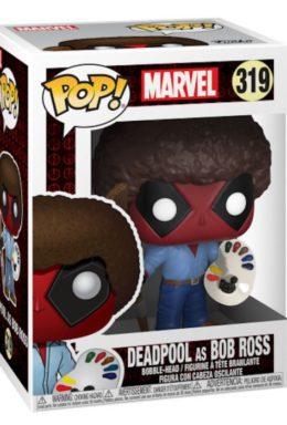Copertina di Deadpool as Bob Ross – Marvel – Funko Pop 319