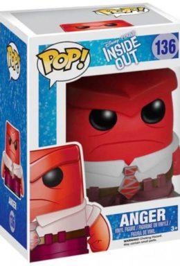 Copertina di Anger – Inside Out – 136 – Funko Pop 136