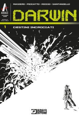 Copertina di Darwin n.1 – Destini Incrociati