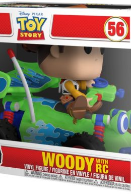 Copertina di Woody with RC – Toy Story – Funko Pop 56