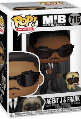 Copertina di Agent J and Frank – Man In Black – Funko Pop 715