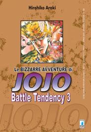 Copertina di Battle Tendency n.3 – Le bizzarre avventure di Jojo