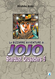 Copertina di Stardust Crusaders n.5 – Le bizzarre avventure di Jojo