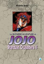 Copertina di Stardust Crusaders n.8 – Le bizzarre avventure di Jojo