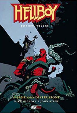 Copertina di Hellboy Omnibus Vol.1 – Il Seme della Distruzione