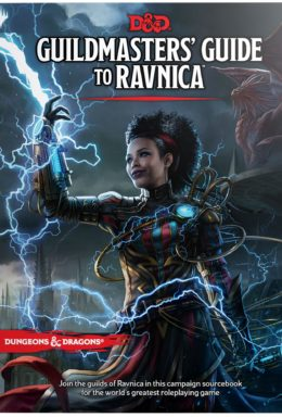 Copertina di Dungeons & Dragons Guildmasters' Guide to Ravnica