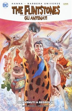 Copertina di The Flintstones – Benvenuti a Bedrock