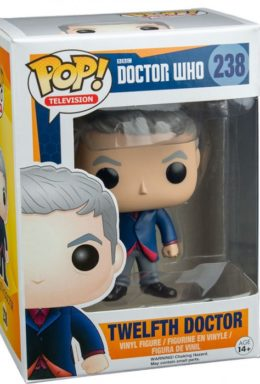 Copertina di Twelfth Doctor – BBC Doctor Who – Funko Pop 238