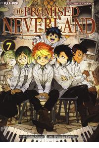 Copertina di The Promised Neverland n.7