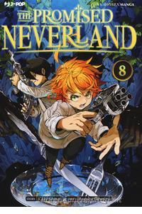 Copertina di The Promised Neverland n.8