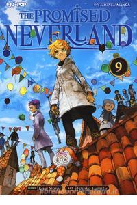 Copertina di The Promised Neverland n.9