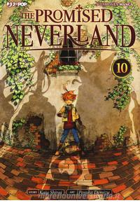 Copertina di The Promised Neverland n.10