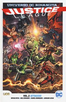 Copertina di Rinascita Collection – Justice League. Vol. 2: Attacco!