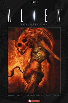 Copertina di Aliens Resurrection