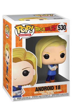 Copertina di Android 18 – Dragonball Z – Funko Pop 530
