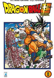 Copertina di Dragon Ball Super n.8