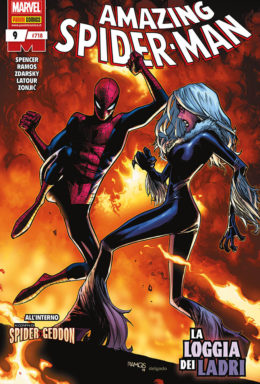 Copertina di Spider-Man 718 – Amazing Spider-Man n.9