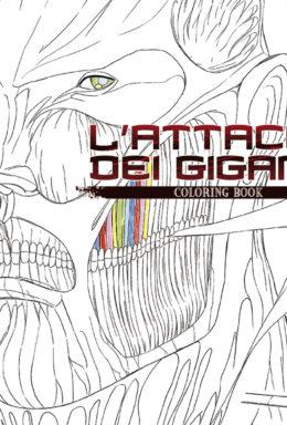 Copertina di L'Attacco Dei Giganti Coloring Book